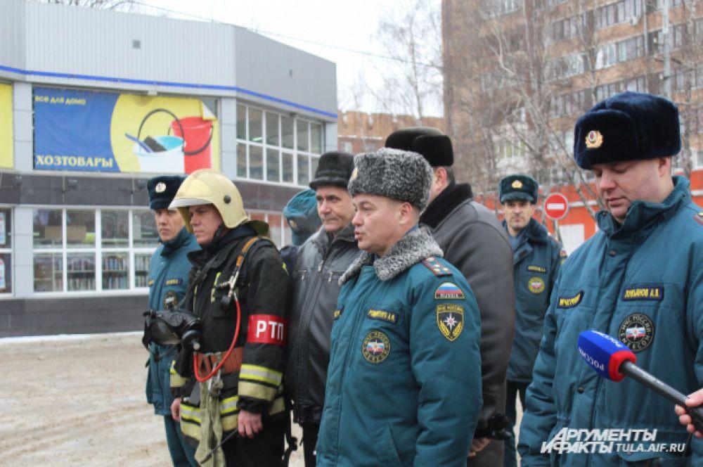 Андрей Романченко отметил, что все успешно справились с заданием