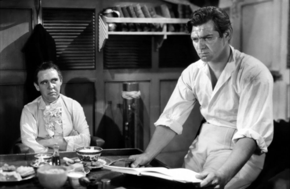 Еще одной ролью, прославившей Гейбла, стал образ Лейтенанта Кристиана Флетчера в фильме «Мятеж на Баунти» (1935).Фильм также был номинирован на главную кинопремию мира, но победителем не стал.