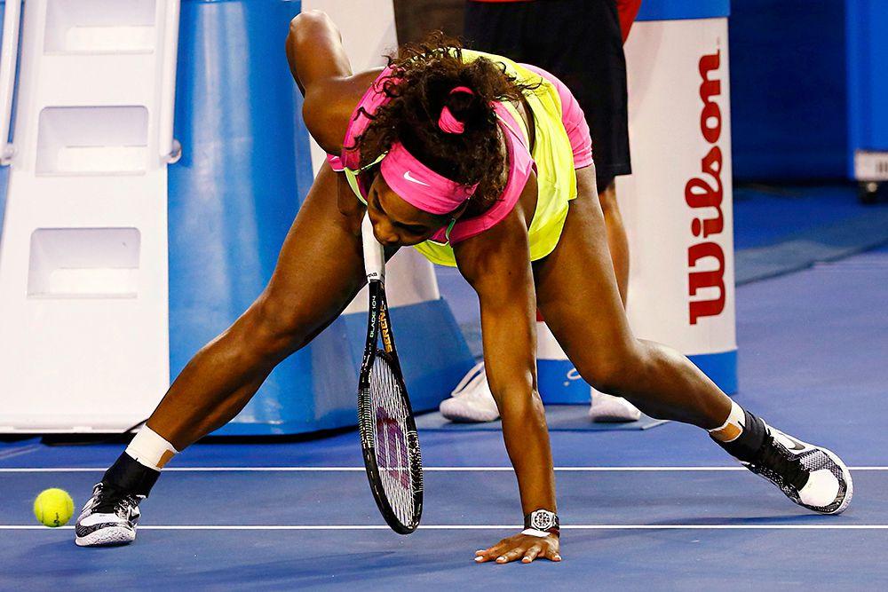 """«Мария по-настоящему прессинговала меня, - подчеркнула Уильямс. - Шарапова провела грандиозный матч. Что касается меня, то никогда не могла себе даже представить, что мне удастся выиграть 19 турниров """"Большого шлема""""»."""