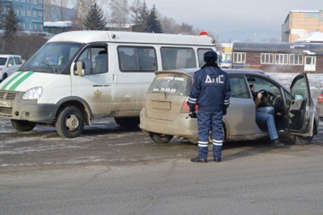 Профилактическая операция «Злостный неплательщик» в Иркутске.