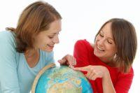 Омичи проверили свои знания по географии.