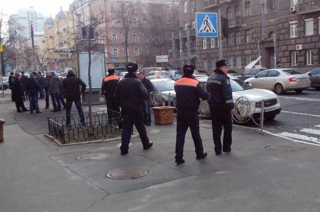 Митинг возле Госавтоинспекции