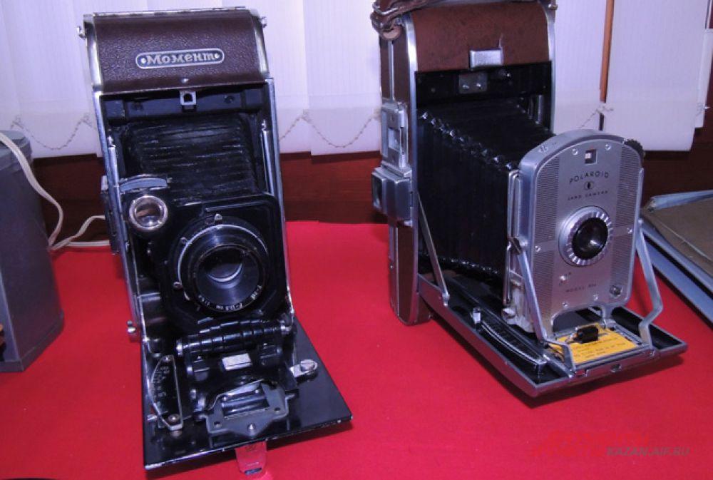 Фотоаппарат «Момент» - аналог «Полароида» и сам «Полароид».