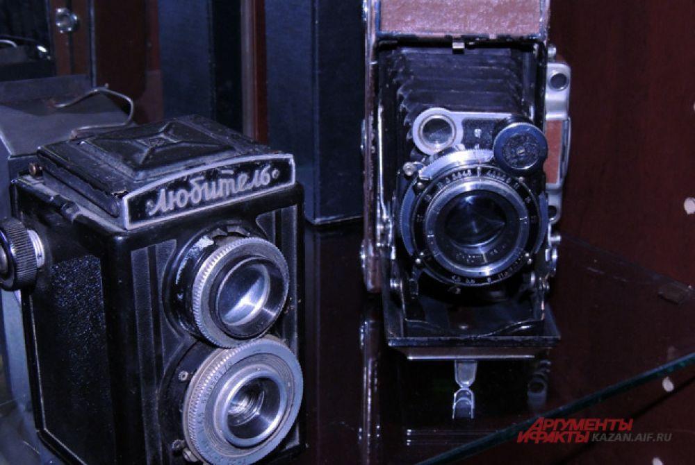 Двухобъективные фотоаппараты.