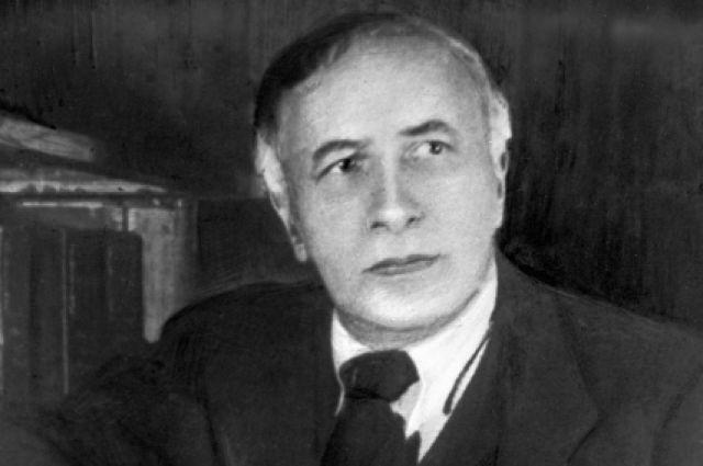 Советский актер и режиссер, создатель и художественный руководитель Камерного театра Александр Яковлевич Таиров.