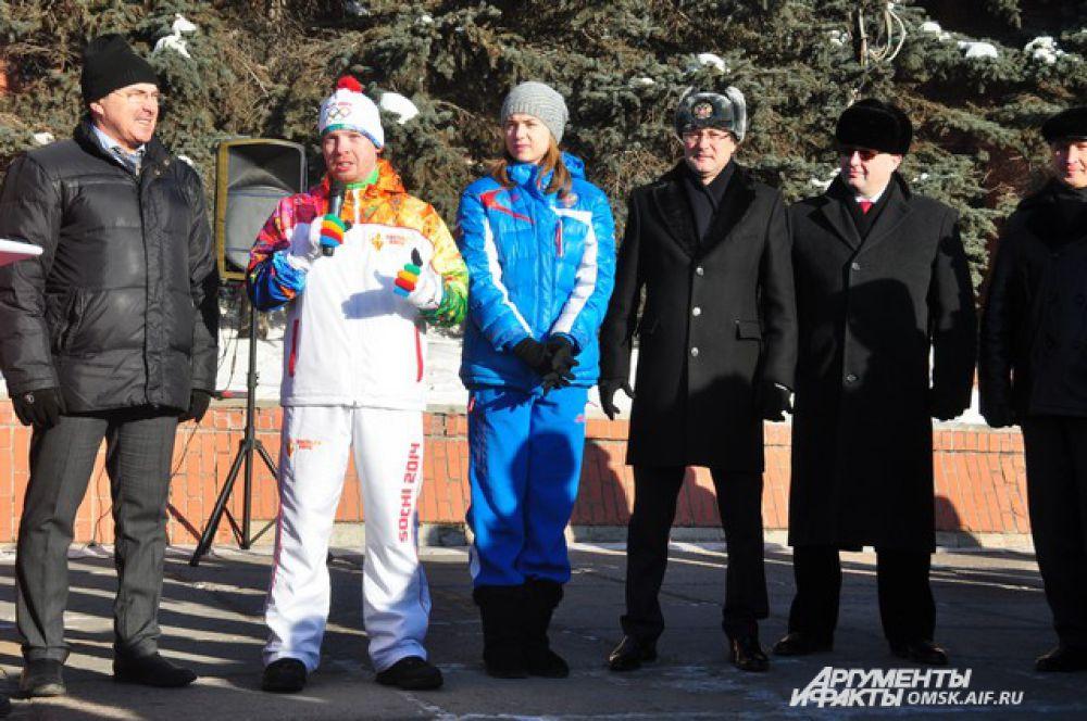 В Омске установили автомат, через который можно поделиться теплом.