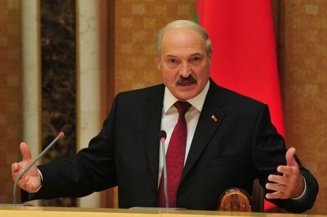 А. Лукашенко, президент Белоруссии.
