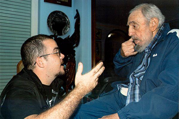 Глава Федерации студентов Гаванского университета Рэнди Гарсиа лично встретился с Фиделем Кастро.