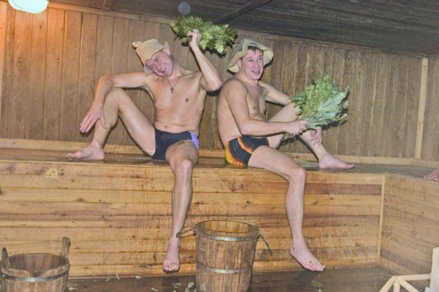Фото ебут в русской бани как
