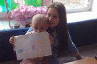 Альмира помогает детям бороться с недугом.