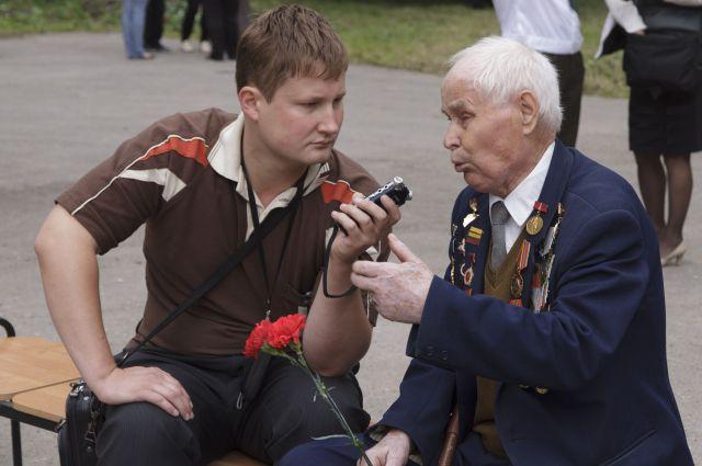 В ходе общения с фронтовиками всплывают интересные подробности о войне
