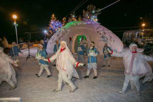 В центре Архангельске ограбили одну из ледовых построек декабря