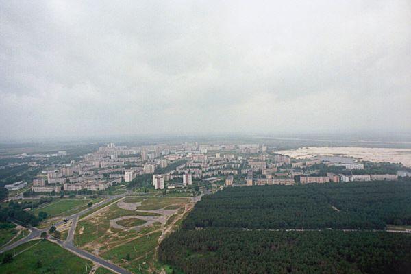 Общий план города.