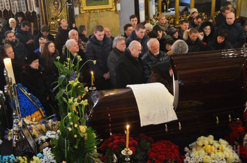 Похороны Кузьмы Скрябина