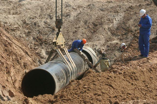 Омские коммунальщики отлично справились с ремонтом трубопровода.