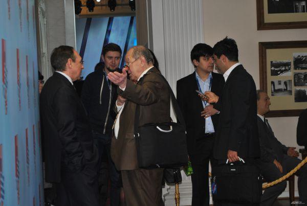 Участники международной научной конференции «Ялта-45: прошлое, настоящее, будущее».