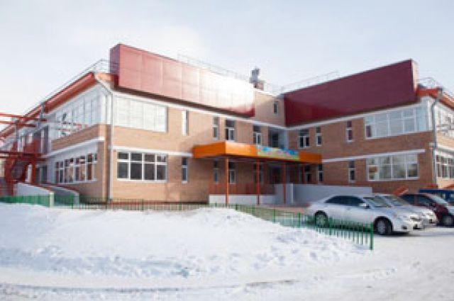 Новй детсад в Иркутске.