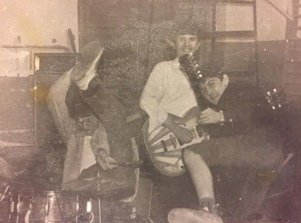 Первые репетиции Кузьмы проходили в школе