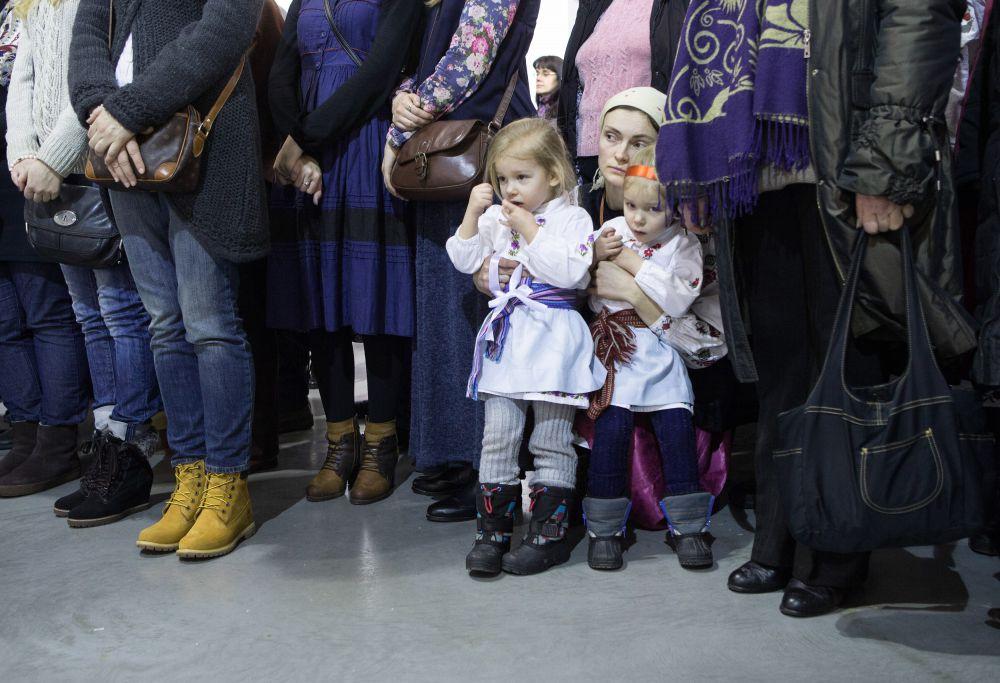 Марина Порошенко на открытия межмузейного арт-проекта «Окна»