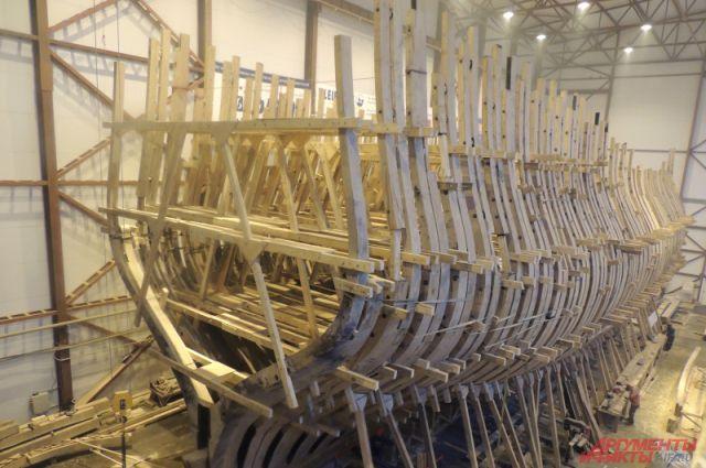 Строительство точной копии корабля