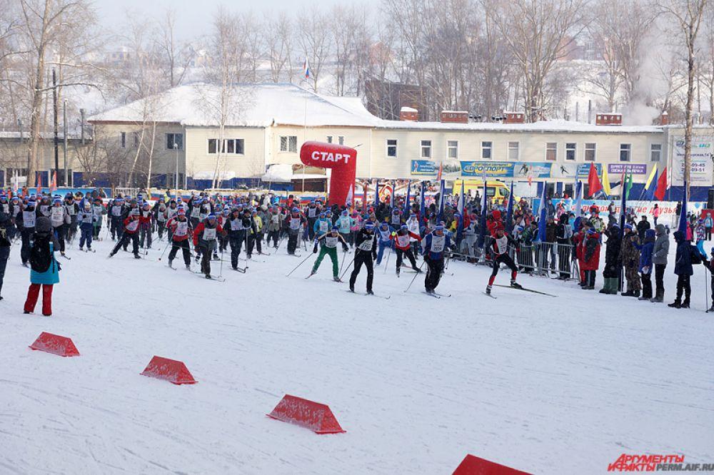 Всероссийская гонка «Лыжня России-2015» состоялась в краевой столице в воскресенье, 8 февраля.