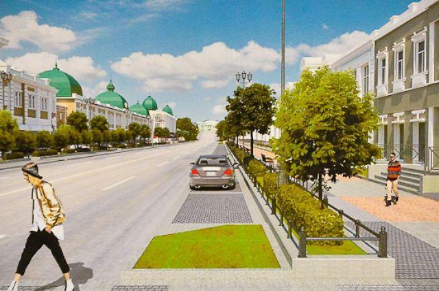 Любинский проспект собираются обновить в имперском стиле.