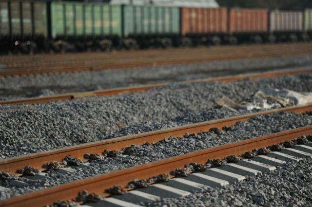 Авария произошла на железнодорожном переезде.