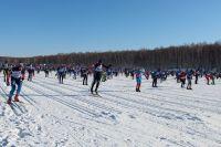 XXXIII массовая лыжная гонка «Лыжня России-2015» в Иркутском районе.