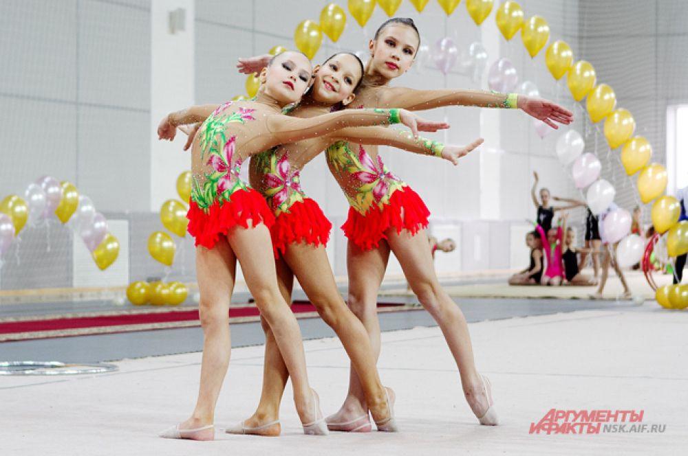 Соревнования проводились в том числе, и для популяризации и развития художественной гимнастики в Новосибирске
