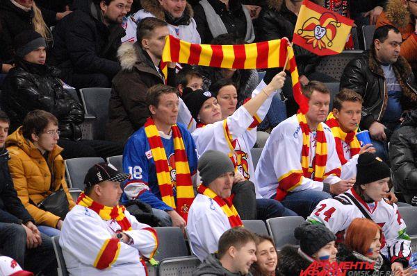 Фанаты из Финляндии выглядели не совсем радостными