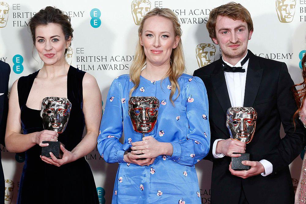 Сценаристы Дженнифер Майка, Дейзи Джейкобс и Крис Хис получили награду в номинации «Лучший короткометражный анимационный фильм» за ленту «Общая картина».