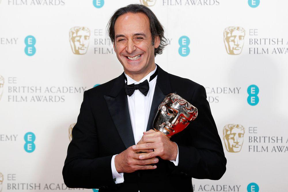 Александр Деспла написал лучшую музыку к фильму в 2015 году («Отель Гранд Будапешт»).