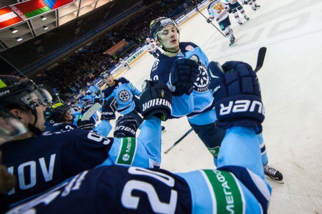 Хоккейная «Сибирь» всухую обыграла «Северсталь»