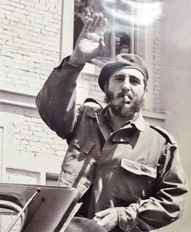 Кубинский государственный деятель Фидель Кастро, 1963 год.