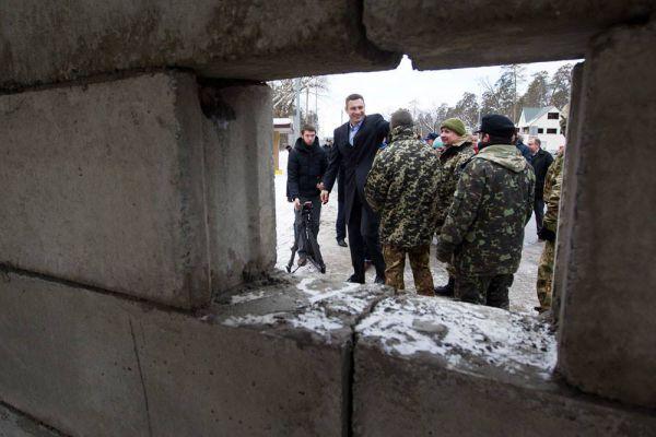 Поездка Виталия Кличко по Киеву