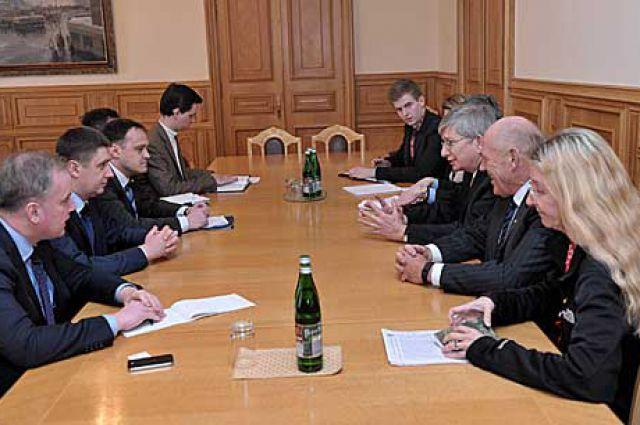 Встреча с делегацией ВКУ
