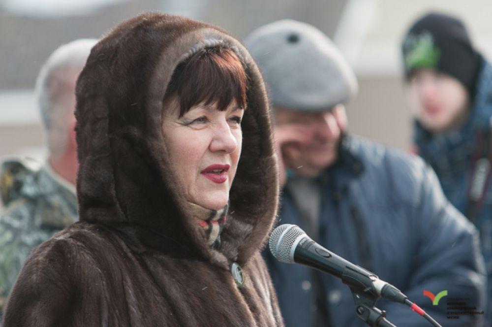 Министр культуры и туризма Тульской области Татьяна Рыбкина