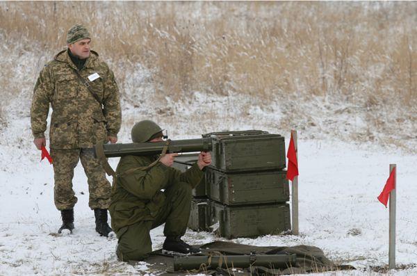 Подготовка украинских артиллеристов и танкистов