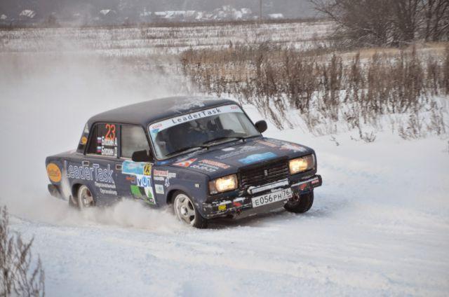Ярославский экипаж Александра и Дмитрия Блохиных заняли второе место зачета 1600 Н.