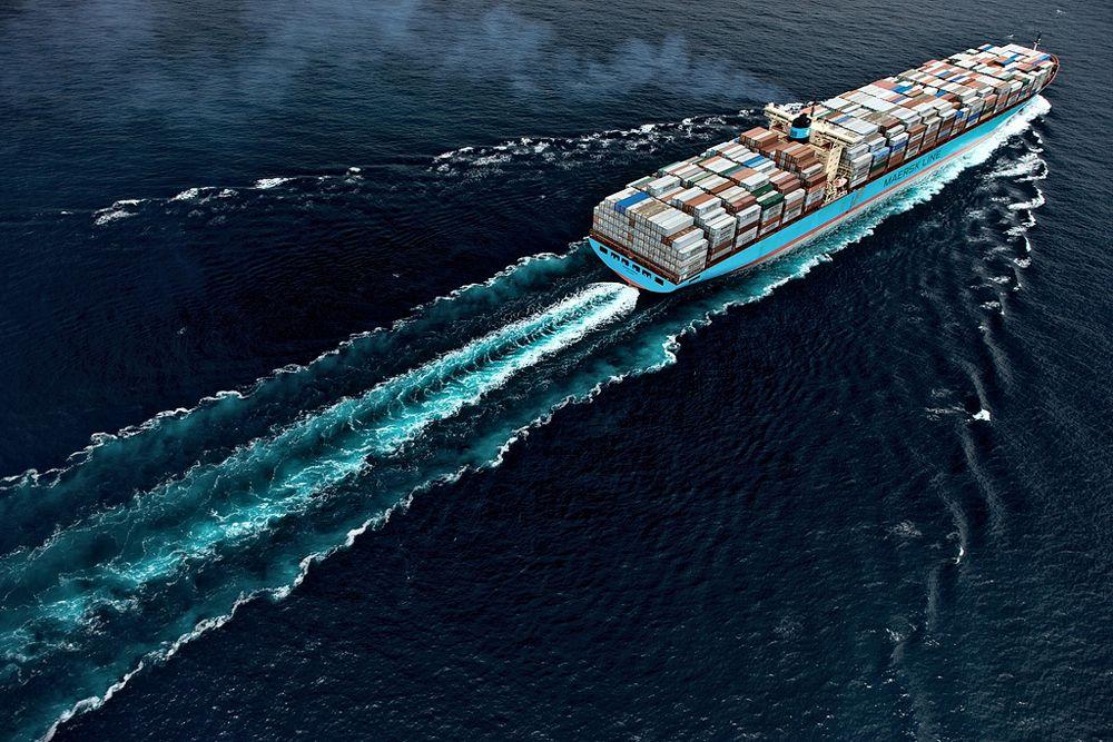 Контейнеровоз Maersk Mc-Kinney Møller 15 июля 2013 вышел в свой первый рейс. Его длина — 400 метров, ширина — 59 метров, вместимость — 18 000 контейнеров, грузоподъемность — 165 тысяч тонн.