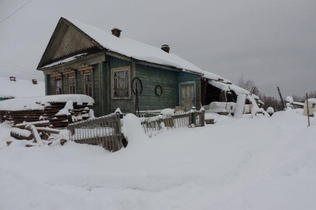 Дом убитого почтальона