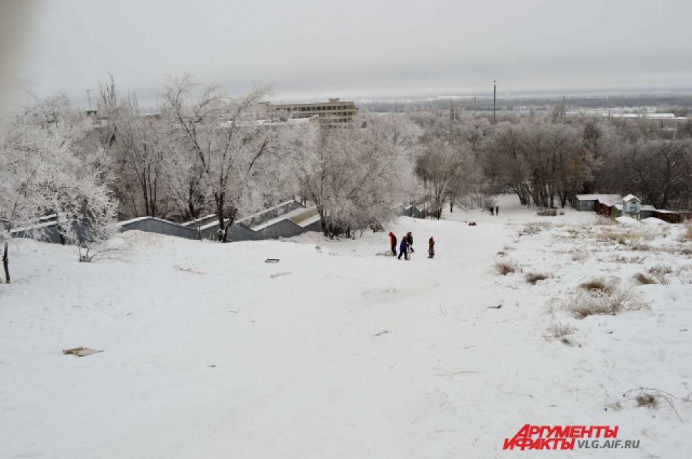 Горки в Тракторозаводском районе.