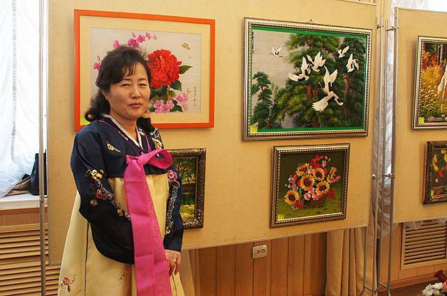 Открытие выставки декоративно-прикладного искусства в Находке.