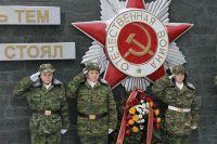 Юная смена защитников отечества.
