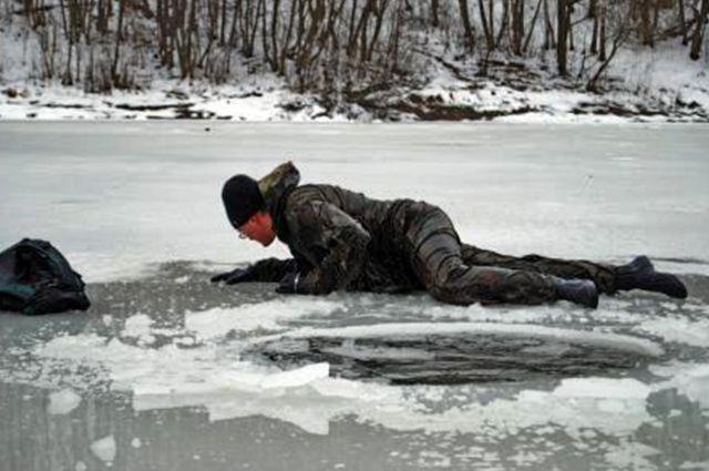Спасение на льду