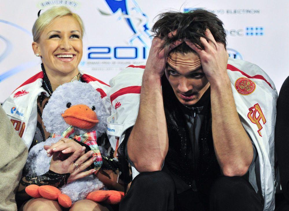 Чемпионат Европы 2011 года Траньков и Волосожар пропустили: фигуристка, в 2010 году выступавшая за Украину, по правилам  Международного союза конькобежцев, переходя в сборную другой страны, должна была отбыть годичный «карантин».
