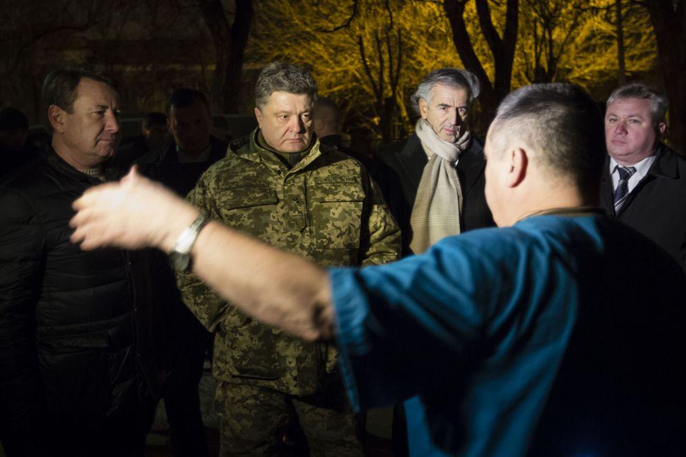 Петр Порошенко в Краматорске