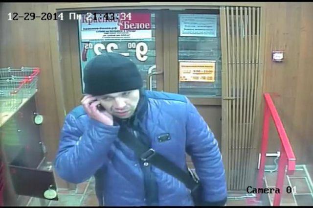 Подозреваемый в ограблении.