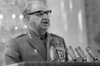 Маршал Василий Чуйков. 1971 год.