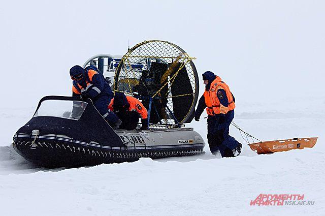 Спастельное судно МЧС РФ